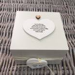 Shabby Personalised Chic Auntie Aunty Great Aunt Gift Trinket Box Jewellery Box - 232512159105